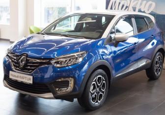 Renault Kaptur в Екатеринбурге