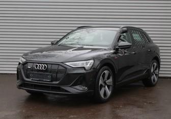 Audi e-tron в Москве