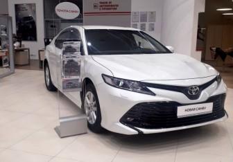 Toyota Camry Sedan в Новосибирске