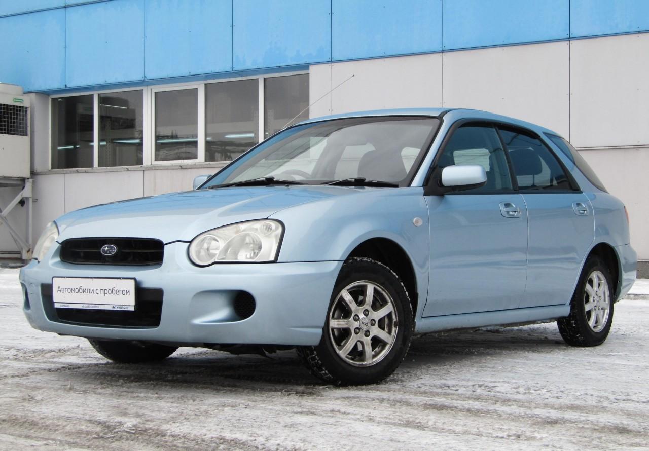 Subaru Impreza Wagon 2002 - 2005