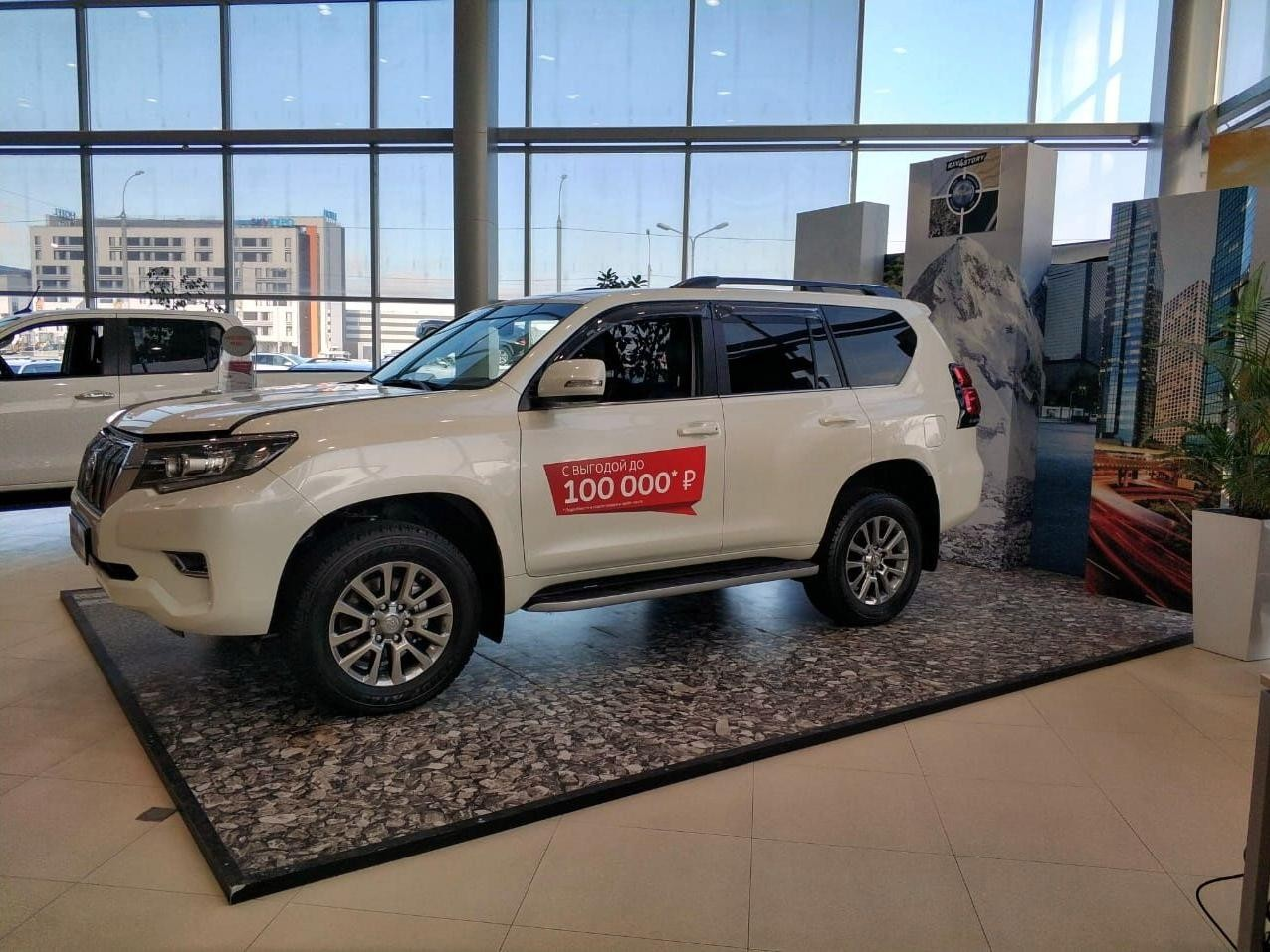Toyota Land Cruiser Prado 2017 - по н.в.