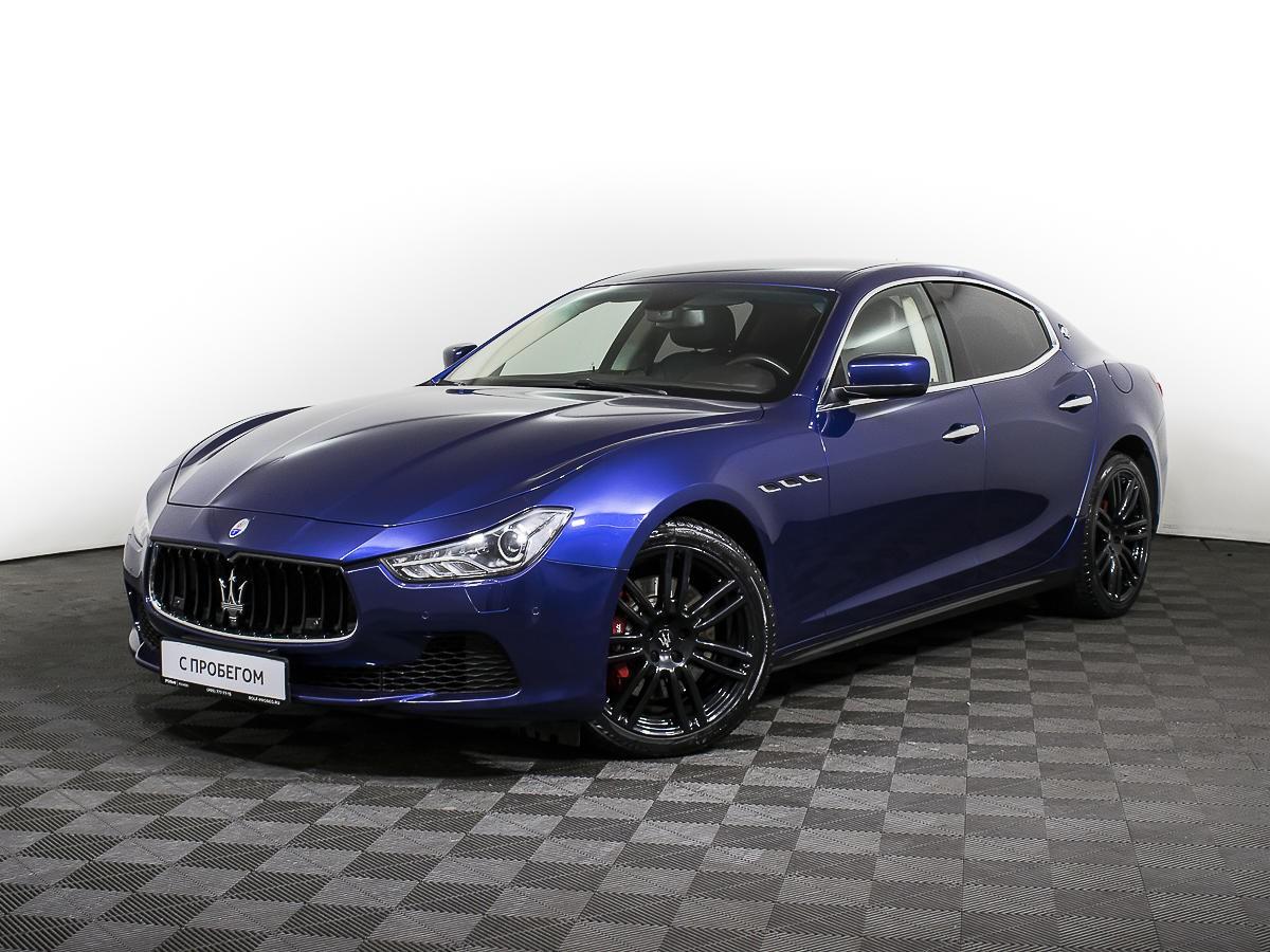 Maserati Ghibli Sedan 2013 - 2016