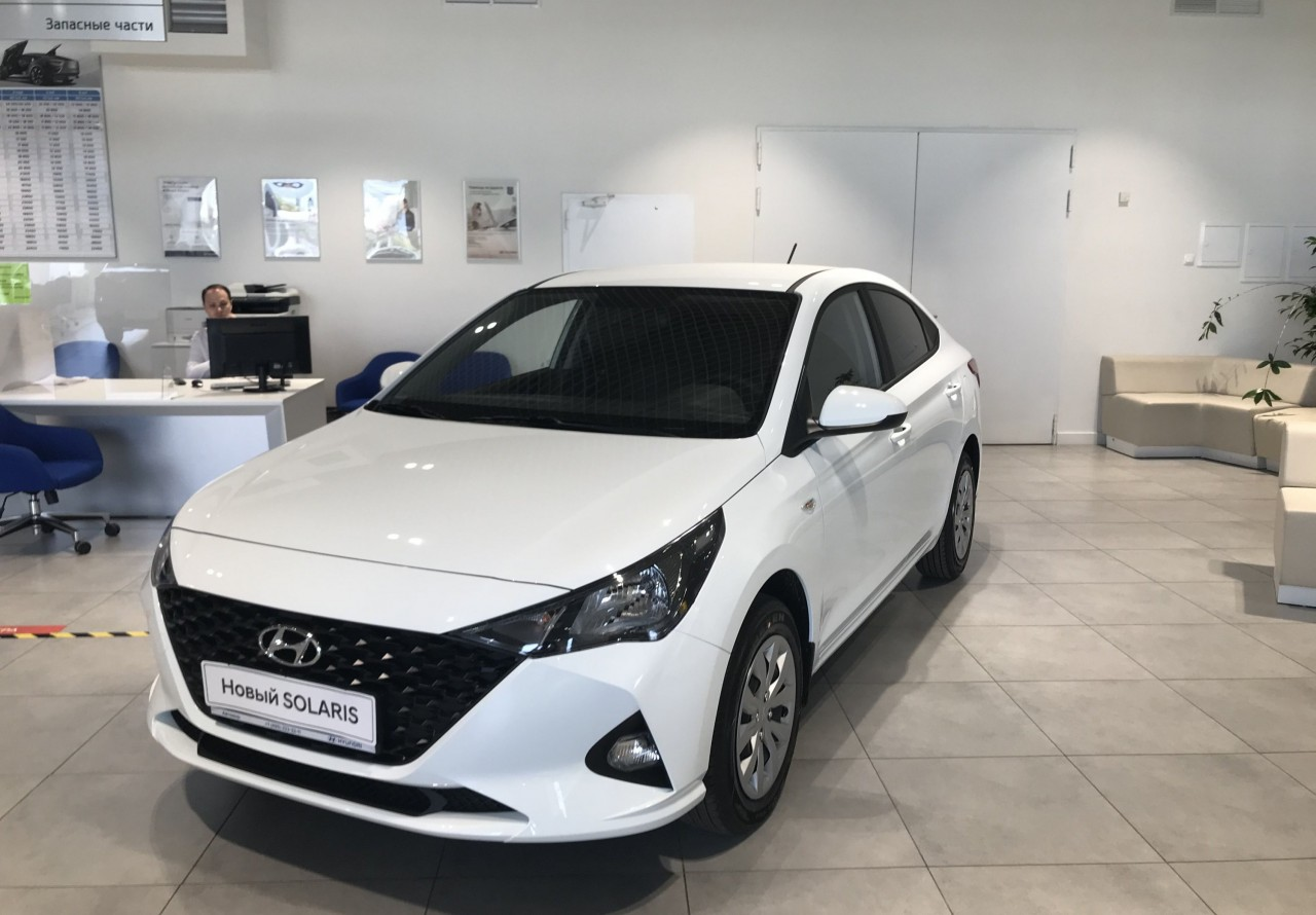 Hyundai Solaris Sedan 2017 - по н.в.