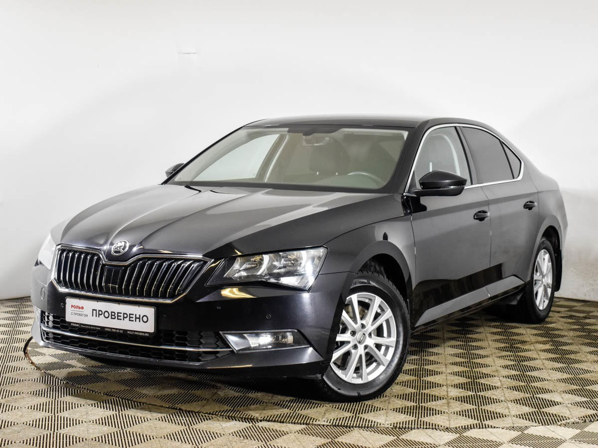 Skoda Superb Liftback 2015 - 2019
