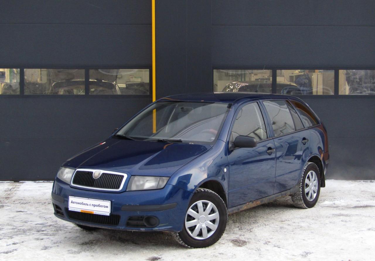 Skoda Fabia Wagon 2004 - 2007