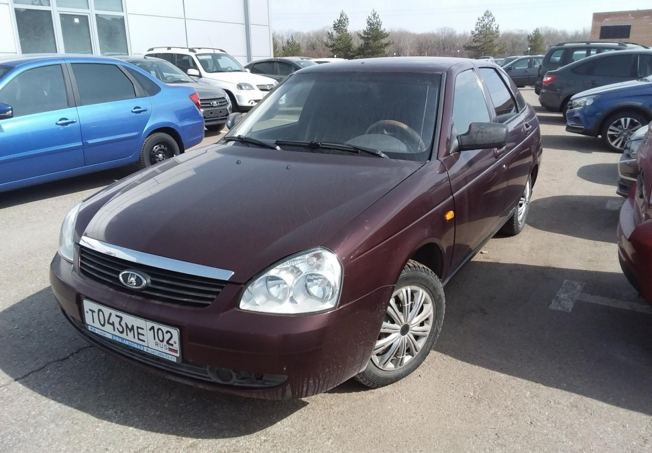 LADA (ВАЗ) Priora Hatchback