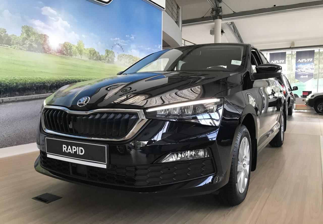 Skoda Rapid Liftback 2012 - 2017