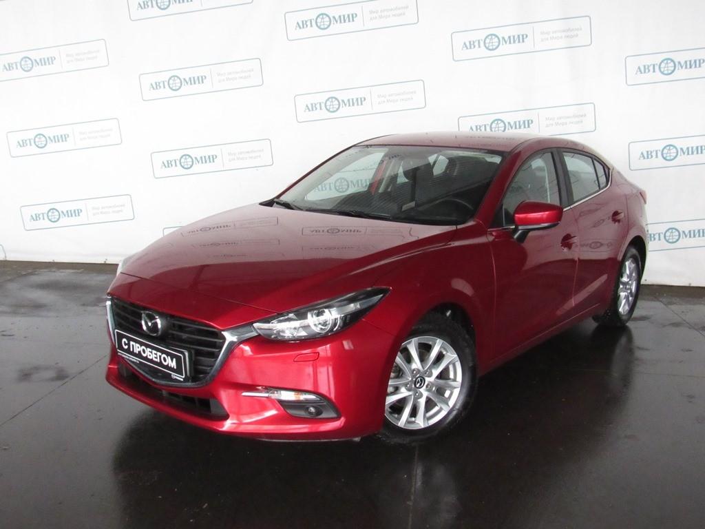 Mazda 3 Sedan 2016 - 2018