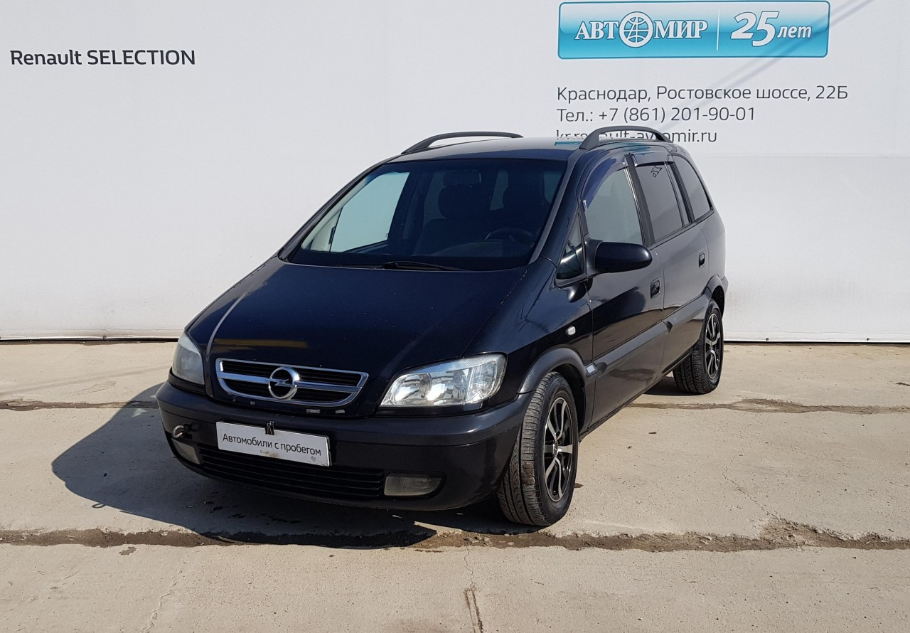Opel Zafira Compactvan 2003 - 2006