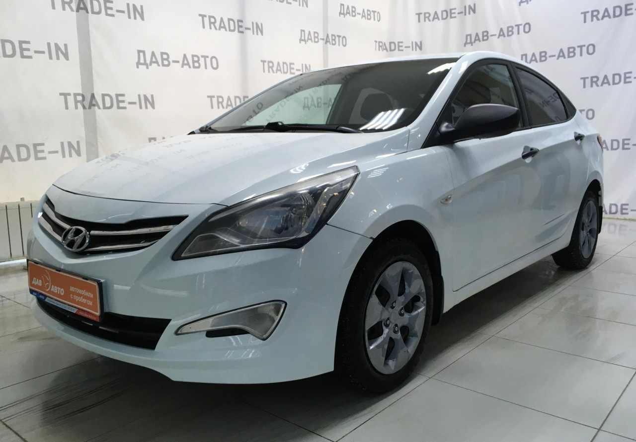 Hyundai Solaris Sedan 2014 - 2017