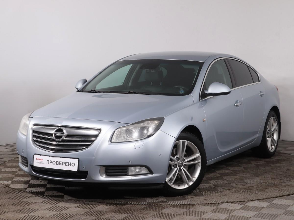 Opel Insignia Sedan 2008 - 2013