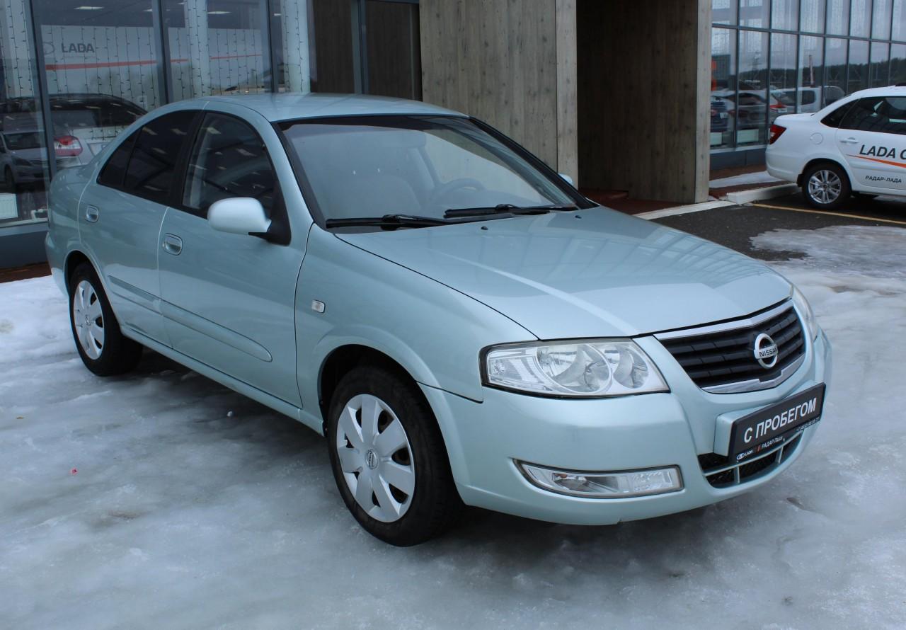 Nissan Almera Sedan 2002 - 2006