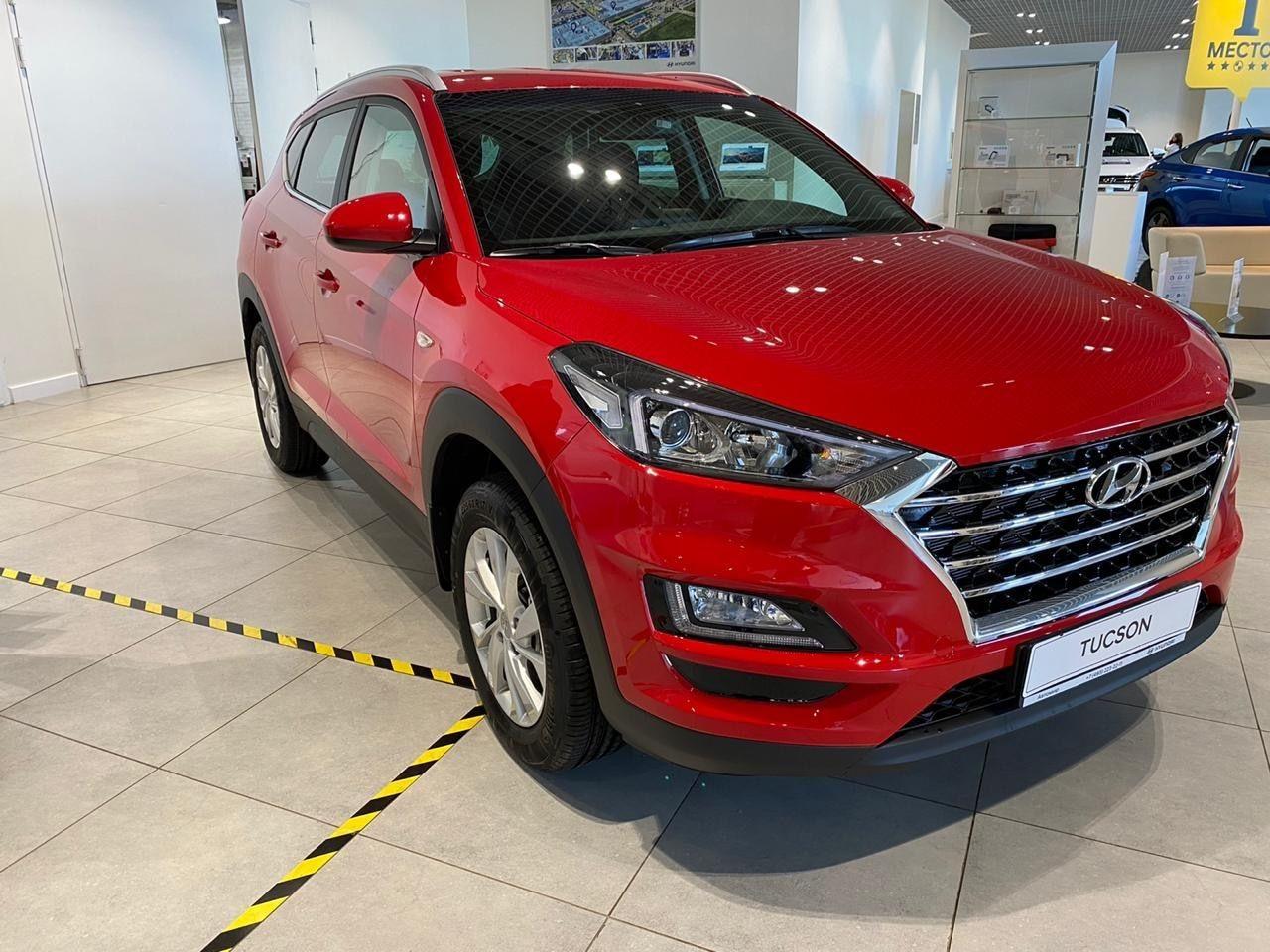 Hyundai Tucson 2018 - по н.в.