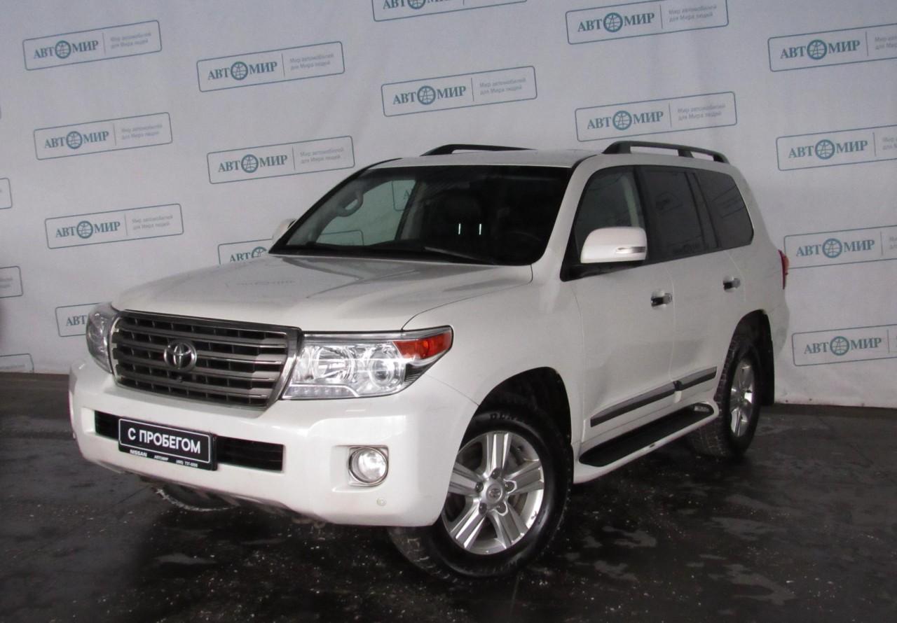Toyota Land Cruiser Suv 2012 - 2015